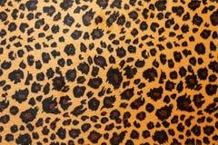 Jaguar hide. Wild African animal hide pattern brown jaguar Royalty Free Stock Photos