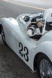 1949 Jaguar i kierowca Obrazy Royalty Free