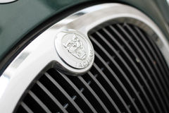 Jaguar logo Stock Photo