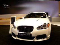 Jaguar Luxury Model XFR Stock Images