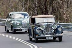 1947 Jaguar Mark IV Drop head Stock Photography