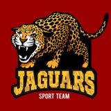 Jaguar mascot - emblem for sport team Royalty Free Stock Photography