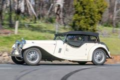 Jaguar Mk droppsalong 1948 Arkivbilder