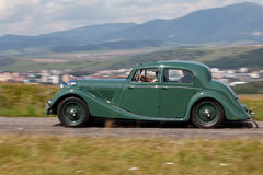 Jaguar MK IV in the nature Royalty Free Stock Photo