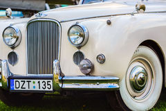 Jaguar Mk VIII - rétro voiture Photographie stock