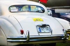 Jaguar Mk VIII - voiture de vintage Image libre de droits