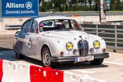 Jaguar MkII racing car Royalty Free Stock Photography