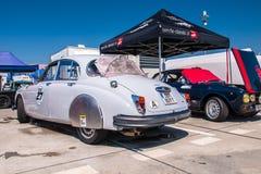 Jaguar MkII racing car Royalty Free Stock Photos