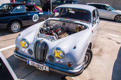 Jaguar MkII racing car Stock Photo
