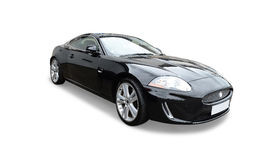 Jaguar negro fotos de archivo