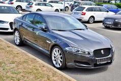 Jaguar nuovissimo XF Fotografie Stock