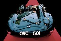 Jaguar OVC D tipo 501 - 1954 Immagine Stock Libera da Diritti