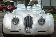 1949 Jaguar przód Zdjęcia Royalty Free