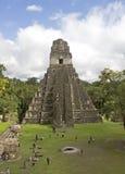 Jaguar Pyramid Stock Photo