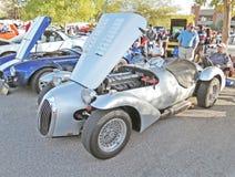Jaguar Race Car Stock Photography