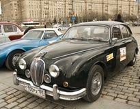 Jaguar retro Imágenes de archivo libres de regalías