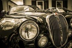 Jaguar S-typ 3,8l 1960Â's royaltyfria bilder