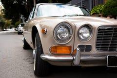 Jaguar sedan 1971 Arkivfoto