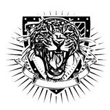 Jaguar sköld Royaltyfria Foton