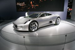 Jaguar sport car cx-75 Royalty Free Stock Photography