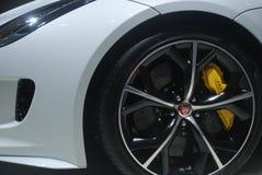 Jaguar sportbil Arkivfoto