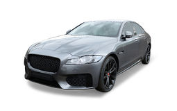 Jaguar sports saloon Royalty Free Stock Images