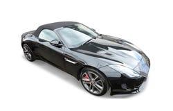 Jaguar-sportwagen stock foto's