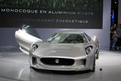Jaguar-Sportwagen cx-75 Stockfoto