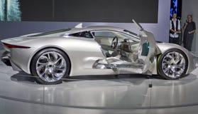Jaguar-Sportwagen cx-75 Lizenzfreie Stockfotos