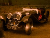 Jaguar SS 100, 1938 foto de archivo