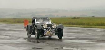 Jaguar ss 100 - club dell'automobile Fotografia Stock