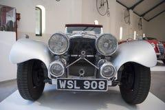 Jaguar SS 100 Swallow Sidecars antique car Stock Photo