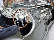 Jaguar-ss 100 uitstekende auto Royalty-vrije Stock Afbeelding