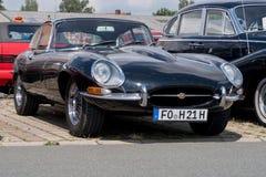 Jaguar - Stary zegar Fotografia Stock