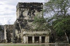 Jaguar temple stock photos