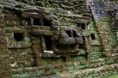 Jaguar Temple, Lamanai Belize Royalty Free Stock Photography