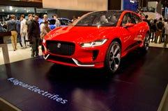 Jaguar tempo Genewa 2017 Obrazy Royalty Free