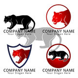 Jaguar or Tiger Concept Logo Stock Photo
