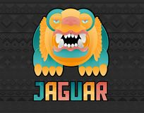Jaguar toon illustration vector illustration