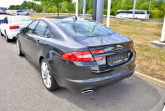 Jaguar tout neuf XF Photo libre de droits