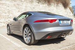 Jaguar typ coupe S, tylni widok Zdjęcie Royalty Free