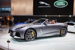 Jaguar typ SVR Fotografia Stock
