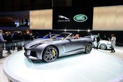 Jaguar typ SVR kabriolet Obrazy Stock