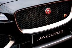 Jaguar Type S Luxury car Royalty Free Stock Photography