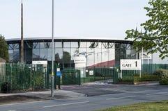 jaguar uk för birmingham bilfabrik Royaltyfri Fotografi