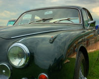 Jaguar vintage car Royalty Free Stock Image
