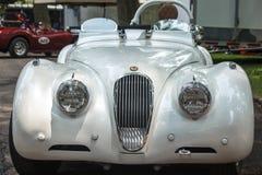 1949 Jaguar-Voorzijde Royalty-vrije Stock Foto's