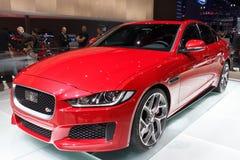 Jaguar XE car Royalty Free Stock Photo