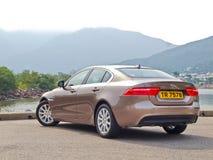 Jaguar XE 2015 Test Drive Day Royalty Free Stock Photo
