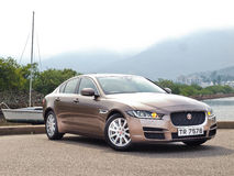 Jaguar XE 2015 Test Drive Day Royalty Free Stock Images